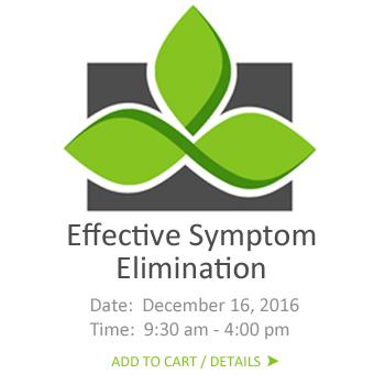 symptom elimination