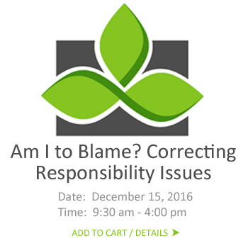 responsibility issues, self blame, self blame issues